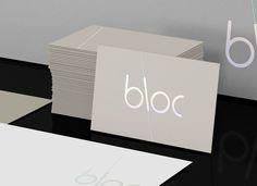 Bloc - Business Card Design Inspiration | Card Nerd