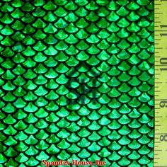 Kelly Small Fish Scale Lycra Fabric by JoyTheSeamstress on Etsy Diy Projects To Try, Crafts To Make, Little Mermaid Play, Fish Costume, Mermaid Fabric, Sparkle Skirt, Small Fish, Fish Scales, Mermaid Tails