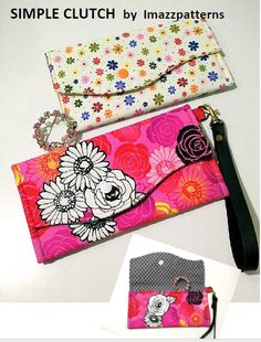 Free Sewing Pattern: Simple Clutch – Purse