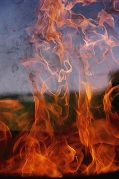 ✮ Close View of Fire