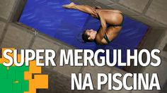 SUPER MERGULHOS NA PISCINA - MINECRAFT