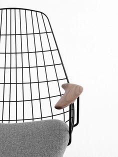 Pastoe Wire Lounge Chair FM06 I Cees Braakman