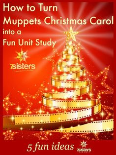 """How about turning A Muppets Christmas Carol into a unit study? 5 Ways to Turn """"Muppets Christmas Carol"""" into a Homeschool Unit Study. Muppets Christmas, Merry Christmas To All, Christmas Movies, Christmas Carol, Christmas Time, Christmas Recipes, Holiday Crafts For Kids, Christmas Activities, Christmas Traditions"""