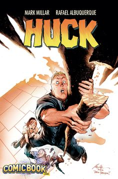 Huck #1 Goonies variant cover (after Drew Struzan) by Rafael Albuquerque *