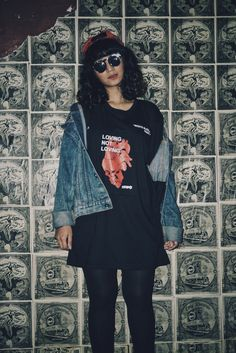 Grunge girl fashion