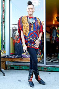 Bubble Caftan African wax by HarrietsbyHekima ~Latest African Fashion, African Prints, African fashion styles, African clothing, Nigerian style, Ghanaian fashion, African women dresses, African Bags, African shoes, Kitenge, Gele, Nigerian fashion, Ankara, Aso okè, Kenté, brocade. ~DKK