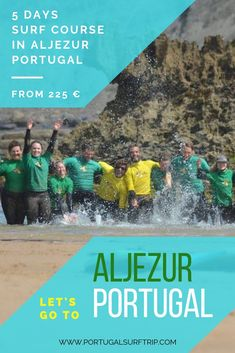 5 DAYS SURF COURSE IN ALJEZUR   PORTUGAL what is included : ~ 5 surf lessons with certified local instructors  ~ surf board & wetsuit  ~ beach transfer to the best surf spot #aljezur #surfing #surf #lessons #learnHowToSurf #enjoy #active #holiday #in #the #west #coast #of #portugal #with #portugalsurftrip Best Surfing Spots, Portugal Holidays, Surf Trip, Surf Board, Yoga Retreat, West Coast, Wetsuit, Have Fun, Explore