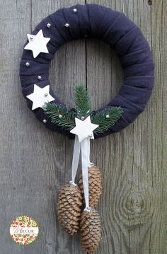 Winter wreath.