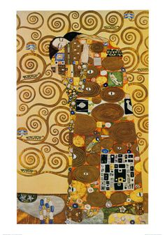 Gustav Klimt - I'm in the process of recreating this in cross stitch...
