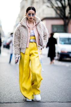 new product 60b76 4de8c The Best Street Style Looks From Paris Fashion Week Fall 2018 - Fashionista  Fall 2018 Fashion