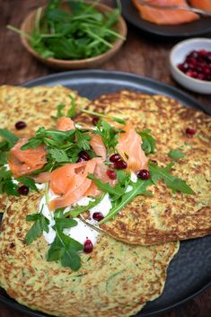 Courgette wraps met gerookte zalm - Mind Your Feed