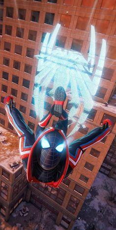 Black Spiderman, Spiderman Spider, Amazing Spiderman, Spiderman Suits, Marvel Heroes, Marvel Characters, Marvel Movies, Spiderman Costume, Marvel Costumes
