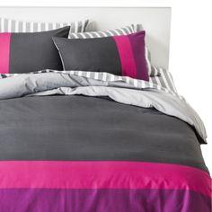 Room Essentials® Color Block Duvet Cover Set