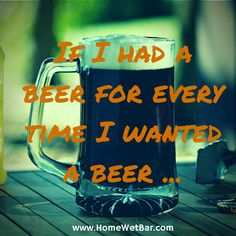 If I had a #beer...