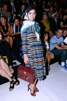 Miroslava Duma in Missoni