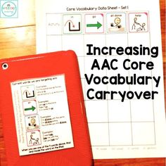 Without carryover of AAC use, what's the point? Shannon at Speechy Musings provides some helpful tips to increase carryover of core vocabulary use! Vocabulary Activities, Speech Therapy Activities, Speech Language Pathology, Language Activities, Speech And Language, Articulation Activities, Receptive Language, Book Activities, Therapy Ideas