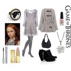 """""""Sansa Stark"""" by thearthippie on Polyvore"""