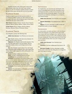"""DnD Homebrew — """"Compendium of Angels"""" excerpt part Ishim Race. Dungeons And Dragons Races, Dnd Dragons, Dungeons And Dragons Homebrew, 5e Races, Create Your Own Adventure, Dnd Classes, Home Brewery, Dnd 5e Homebrew, Dragon Rpg"""
