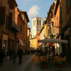 Ferrara, via Mazzini - Instagram by jjammingg
