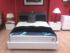 modern low bed