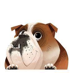 English Bulldog Sticker Decal #buldog