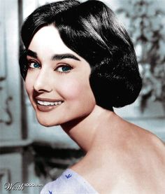 Audrey as Ariane in 1957 movie Love in the Afternoon