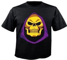 Motiv Fun Emoji T-Shirt Skeletor He Man Masters Of The Universe Motu Tv Motiv Nr. 3535