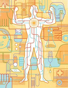 Healthcare and Quality. Conceptual illustration by Thom Sevalrud. Represented by i2i Art Inc. #i2iart