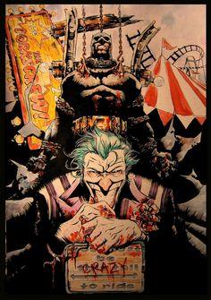 Dustin Nguyen Batman and Joker Commission