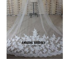 Hey, I found this really awesome Etsy listing at https://www.etsy.com/listing/187274909/ivory-1-layer-alencon-lace-appliques