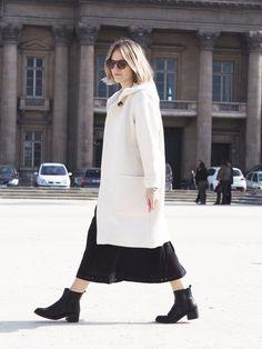 www.styleoftwo.com - STYLEofTWO during Paris Fashion Week 2015 #styleoftwo #pfw2015 #paris #chanel #isabelmarant #cutlerandgross Cutler And Gross, Fashion Week 2015, Isabel Marant, Paris Fashion, Duster Coat, Archive, Normcore, Chanel, Jackets