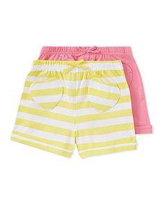 2 Pack Shorts   Girls   George at ASDA