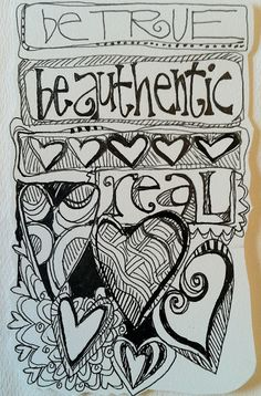 Whimspirations: true doodle...Love it! My parents would get so made at me for doodling on everything! Don't know when I stopped??