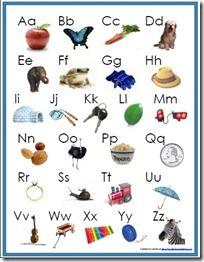 Free Alphabet Beginning Sounds Poster!