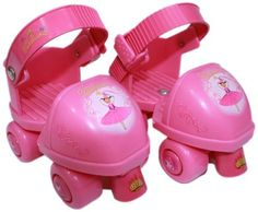 Pinkalicious Toy Skate Combo by Pinkalicious. $19.60. Have a blast roller skating in these cute Pinkalicious adjustable toy skates! These for childrens shoe sizes 6 to 12. these skates also include Pinkalicious knee and elbow pads so you can be protected in style! Your child will love this skate!