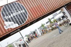 #möbeldepot#stadbiotop#pop upcontainertown#trianglevienna#superdry #mosound Superdry, Vienna, Pop Up, Triangle, Container, Design, Popup