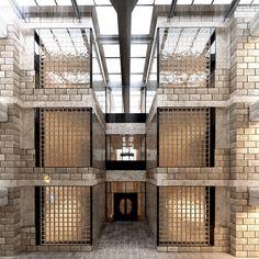 Herman Hertzberger - Centraal Beheer Building, Apeldoorn, Nederland