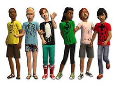 Mod The Sims - Critter Tees for Kids