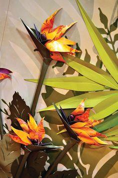 DCWV Diary: CHA Tutorial: Birds of Paradise Flowers
