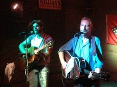 Billy Bragg shows up at the White Water Tavern in Little Rock, Arkansas with Joe Purdy on Thursday, August 21, 2014.
