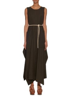 This Sportmax Lettera dress will replace my go-to summer maxi! Come onnnnn TheRealReal!