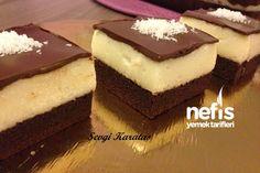 Şerbetli Çikolata Kare Tatlısı 8