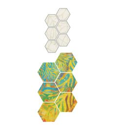 """GO! Fabric Cutting Dies-Paper Piecing Hexagon 1/2"""" Sides"""