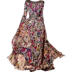 Elie Saab - by Satinee ❤ liked on Polyvore featuring dresses, gowns, vestidos, long dresses, elie saab evening gowns, elie saab gowns, elie saab and elie saab dresses