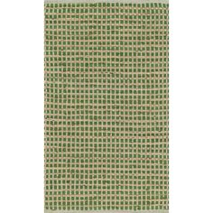 Hand-woven Renato Green Cotton and Jute Rug (3'0 x 5'0) | Overstock.com Shopping - The Best Deals on 3x5 - 4x6 Rugs