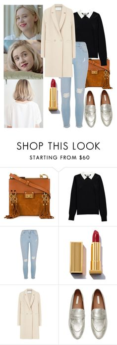 """Noora Amalie Sætre"" by indielands ❤ liked on Polyvore featuring Chloé, Essentiel, River Island, Harris Wharf London, noora and skam"