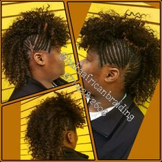Cornrows in a Mohawk style meticulously done by Haka crew... Call now and get yours done today! Tel:571-428-2608 WALK-INS WELCOME! #Frenchbraids #CornrowsBraids #Mohawkdesign #Bestafricanhairbraidinginnorthernvirginia #Bestbraiders #Hakaafricanbraiding #Manassasmall #Freewifi #Freewater