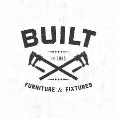 Built Furniture & Fixtures #logo by Brave Nu Digital