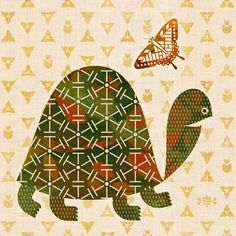 Scott Partridge - illustration - tortoise