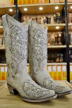 Ferrini Women's Old West Honey Cowgirl Boot - Square Toe - 82993-29